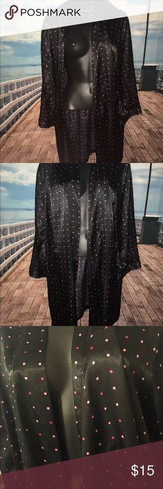 Morgan taylor intimates 2xl robe with tie Womens robe with wrap around tie morgan taylor  Intimates & Sleepwear Robes