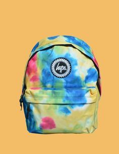 Hype Unisex Classic Backpack - Tie Dye- New