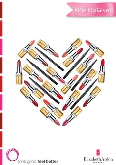Help us #PinItToGiveIt! 1 Repin = 1 lipstick donation to the Look Good Feel Better charity. #BeautifulColor