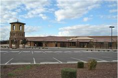 Neighborhood schools, like this elementary school inside the Adora Trails community in #Gilbert, #AZ, make getting #kids to #school more convenient for families.