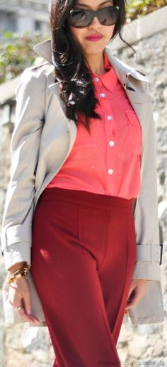 Office Style | Color Blocking