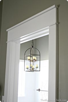 My love chunky trim & Fancy But Easy DIY Door Trim Design (Plus Seven Design Variations ... Pezcame.Com