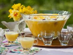 The Pioneer Woman's Sunrise Punch! Another possible holiday party addition. :-)