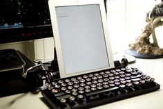 This Typewriter Inspired Keyboard See More 7 Pics Here>>>http://goo.gl/PefP32