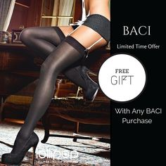 NEW best seller #hosiery...see the #BACI Limited Time #OFFER here: http://lollipoplingerie.com.au