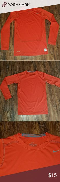 BOYS NIKE DRI-FIT (XL) BOYS NIKE DRI-FIT PRO COMBAT COMPRESSION TOP IN NEW CONDITION Nike Shirts & Tops Tees - Long Sleeve