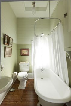 clawfoot tub and shower combo. Clawfoot Tub Shower Bathroom Traditional with Vaulted Ceiling Solid Color  Valances Kit Pedestal Sink Chrome and Beadboard