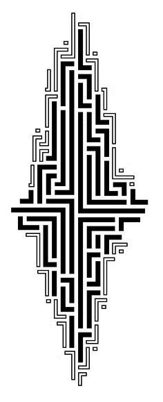 Tribal Maze tattoo