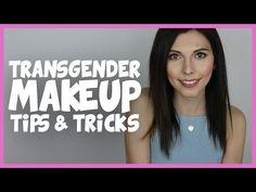 TRANSGENDER FACE FEMINIZING MAKEUP | TIPS AND TRICKS - YouTube