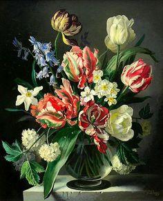 gerald a cooper | Gerald A. Cooper (1899-1975) — (568x700) | Floral Love ...