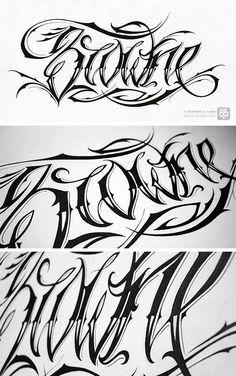 script tattoo font hand drawn. Typography   tattoos picture script tattoo fonts
