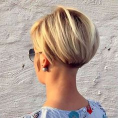 Stylist back view short pixie haircut hairstyle ideas 55