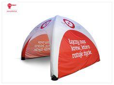 Stałociśnieniowy namiot VENTO 5x5 - pierwszorzędny na ogólnopolskie kampanie społeczne.