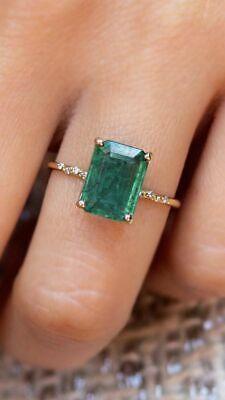 Emerald Diamond, Diamond Rings, Diamond Engagement Rings, Emerald Ring Vintage, Green Emerald Ring, Emerald Rings, Green Sapphire Engagement Ring, Emerald Wedding Rings, Cute Jewelry