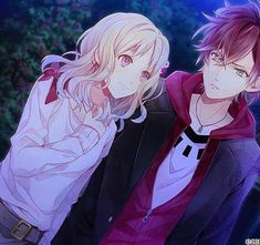 Image de diabolik lovers, anime, and ayato Diabolik Lovers Ayato, Ayato Sakamaki, Anime Love Story, Anime Love Couple, Ayato And Yui, Cute Anime Boy, Anime Guys, Fanarts Anime, Manga Anime
