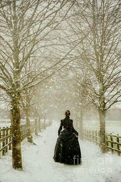 Calliope frolicking through the snow.