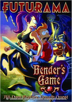 Futurama Bender's Game