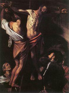 Caravaggio, Crocifissione di Sant'Andrea, 1607, Museo di Arte Cleveland