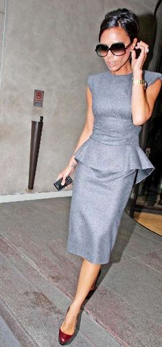 Victoria Beckham is one style icon who makes no mistakes with fit