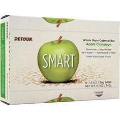 FORWARD FOODS Smart Whole Grain Oatmeal Bar Apple Cinnamon 9 bars 9816040f94