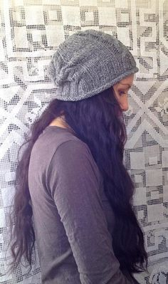 Grey Cables Beanie