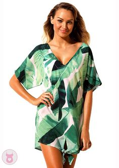 Cover ups Bikini Aleumdr Summer swimwear 2018 new Print Swimsuit Cover Up dress Women Beachwear Swim Wear bathing suit Bikini Cover Up, Swimsuit Cover Ups, Kaftan, Beach Dresses, Floral Dresses, Online Clothing Stores, Women's Clothing, Ladies Dress Design, Blouses For Women