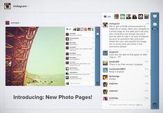 Instagram muda interface e permite likes e comentários... bacana...