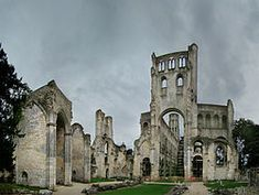 """""""Jumièges Abbey was a Benedictine monastery, situated in the commune of Jumièges in the Seine-Maritime département, in Normandy, France."""""""