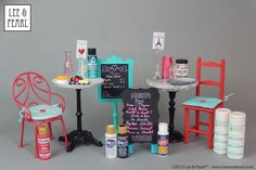 """Planning some DIY projects for American Girl GOTY Grace Thomas? In this tutorial, Lee & Pearl craft-meister """"Lee"""" offers a detailed list of the SUPPLIES you need to perfectly prep and finish your DIY or found objects and perfectly match your paint colors."""