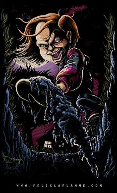 A list of Best Animated Horror Cartoon Characters and stop motion Horror Cartoons and Characters. From Mad Monster Party to Disney's Headless Horseman. Horror Cartoon, Horror Icons, Arte Horror, Horror Art, Tribal Logo, Napalm Death, Childs Play Chucky, Zombie Movies, Fright Night