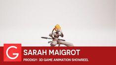 Sarah Maigrot - Prodigy: 3D Game Animation Showreel