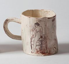 Pottery Pots, Ceramic Pottery, Ceramic Painting, Ceramic Artists, Pottery Painting Designs, Clay Art Projects, Pottery Techniques, Bathroom Art, Ceramic Plates
