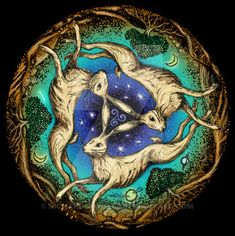 The 'three hares' motif is an ancient mystery for our times - bunny - Populer Tattoo Pin Share Lapin Art, Religious Symbols, Religious Studies, March Hare, Rabbit Art, Bunny Art, Ancient Mysteries, Sculpture, Occult