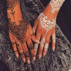arte, blanco, dibujo, diseno, henna, negro, tattoo, tatuaje