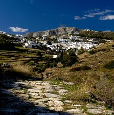 Paros island has a variety of mountain as well as coastal villages.