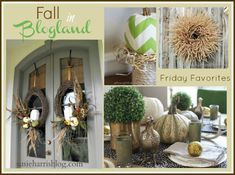 Fall Inspiration- Fall Decorating