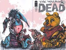 Zombie/Walking Dead/Winnie Pooh POSTER #1 Tigger Piglet Eeyore Disney Avengers