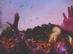 go to summer music festivals...and coachella (at least 3 times)