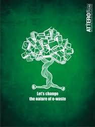 Attero recycling: not all electronics grow into e-waste, e-waste need not turn ugly, let's change the nature of e-waste Electronic Waste Recycling, E Waste Recycling, Recycling Facts, E Waste Disposal, Save Water Poster Drawing, Waste Art, Environmental Art, 3d Printing, Let It Be