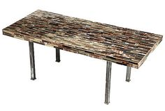 Possible use contemporary tiles for 1960's table top