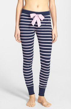Cozy stripe pajama pants