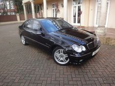 This is a Mercedes C32 AMG. It has 350   bhp! #Mercedes32 #windscreen #winddeflector http://www.windblox.com