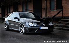 "MERCEDES BENZ CLK63 AMG BLACK SERIES ON 20"" CONCAVO CW-5 DEEP CONCAVE WHEELS / RIMS TEAMCONCAVO - Pesquisa Google"