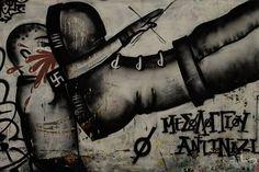 Street Art - Athens Greece - VLP - Velvet Lies Productions #Αθήνα #Graffiti #Pentax #Exarcheia #PinStreetArt #RawTherapee #Athens #Ελλάδα #PentaxK500 #Greece #StreetArt #Εξάρχεια