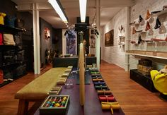 Brooks England Bicycles // B1866 Store Opens in London