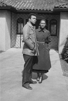 Muhammad Ali and wife Belinda