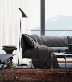 Scandinavian design sofa living room carpet ideas