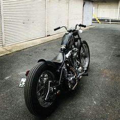 Choppers, Bobber Chopper, Custom Bikes, Motorcycle, Bobbers, Shovel, Badass, Facebook, Baby