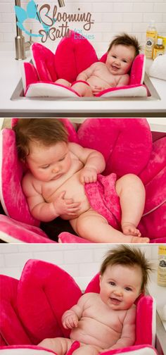 Blooming Bath - Hot Pink - these r awesome - would certainly love one/two of these for the twins!