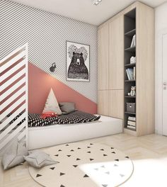 5 Cool Kids Rooms – La Petite The Coolest Kids Rooms – Babyzimmer Girl Room, Girls Bedroom, Bedroom Ideas, Bedroom Decor, Cool Kids Rooms, Kids Room Design, Awesome Bedrooms, Kid Spaces, Room Colors